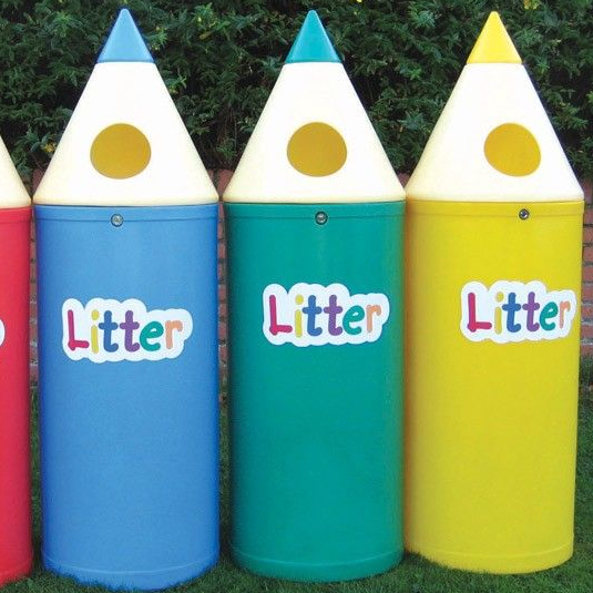 Individual Pencil Bins with