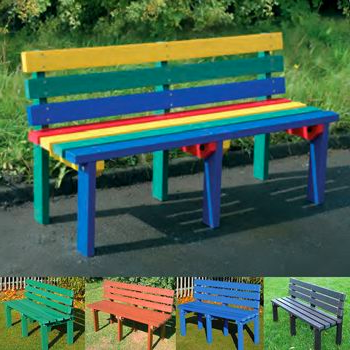Recycled Bench 3 Seater